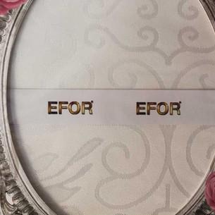 Скатерть прямоугольная Efor STAR жаккард белый 160х300