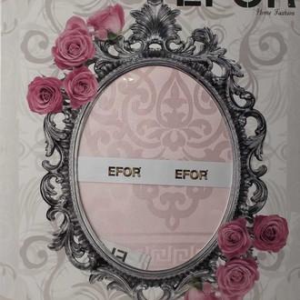 Скатерть прямоугольная Efor STAR жаккард розовый