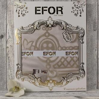 Скатерть прямоугольная Efor YAKUT жаккард капучино