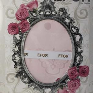 Скатерть прямоугольная Efor YAKUT жаккард розовый 160х300