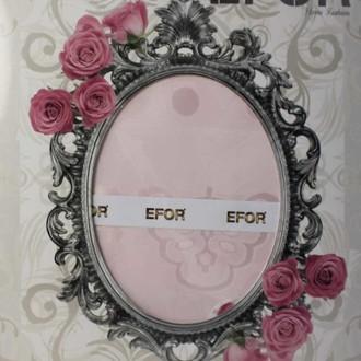 Скатерть прямоугольная Efor YAKUT жаккард розовый