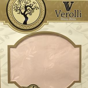 Скатерть прямоугольная Efor ZEYTINDALI OLIVE жаккард сухая роза 160х220