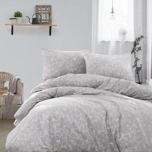Постельное белье Ecosse RANFORCE DANTE хлопковый ранфорс серый семейный