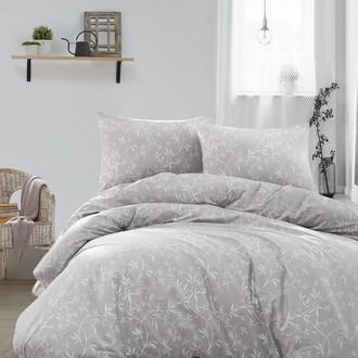 Постельное белье Ecosse RANFORCE DANTE хлопковый ранфорс серый