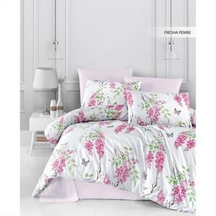Постельное белье Ecosse RANFORCE FRESHA хлопковый ранфорс розовый 1,5 спальный