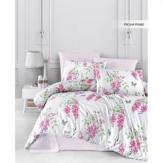 Постельное белье Ecosse RANFORCE FRESHA хлопковый ранфорс розовый