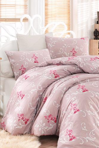 Постельное белье Ecosse RANFORCE ALBINA хлопковый ранфорс 1,5 спальный, фото, фотография