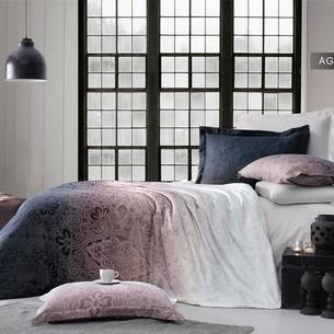 Постельное белье Ecosse SATIN AGORA хлопковый сатин 1,5 спальный