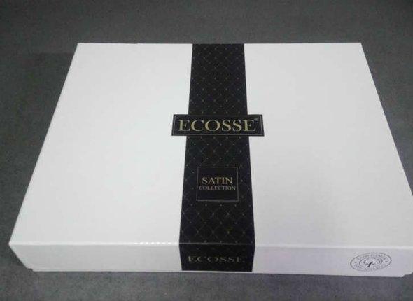 Постельное белье Ecosse SATIN IRINA хлопковый сатин семейный, фото, фотография