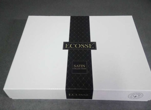 Постельное белье Ecosse SATIN LUNA хлопковый сатин евро, фото, фотография