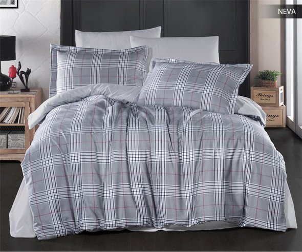 Постельное белье Ecosse SATIN NEVA хлопковый сатин 1,5 спальный, фото, фотография