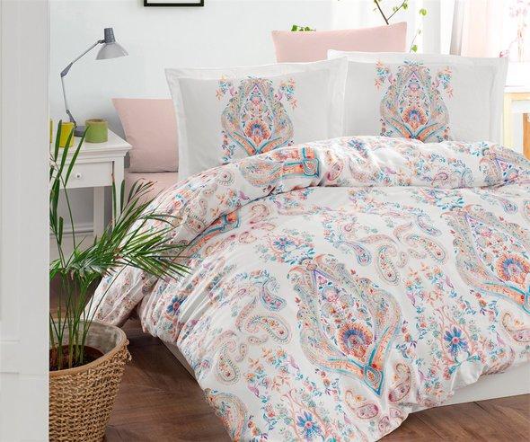 Постельное белье Ecosse SATIN SANTANA хлопковый сатин 1,5 спальный, фото, фотография