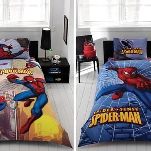 Детское постельное белье TAC SPIDER SENSE хлопковый ранфорс (АКЦИЯ) 1,5 спальный