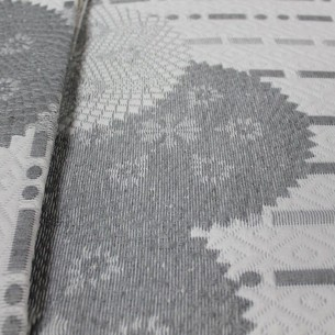 Покрывало гобеленовое без наволочек Efor LINDA жаккард хлопок/полиэстер серый 250х260