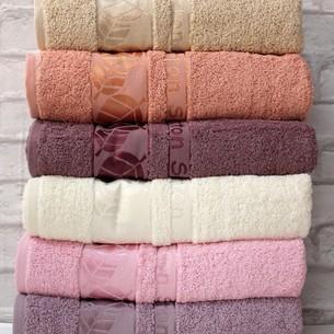 Набор полотенец для ванной 6 шт. Efor VERSILIA хлопковая махра 70х140