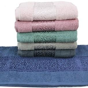 Набор полотенец для ванной 6 шт. Gulcan FLOSLU DAMASK хлопковая махра 50х90