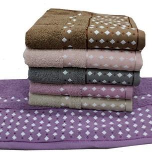 Набор полотенец для ванной 6 шт. Gulcan MOZAIK хлопковая махра 70х140
