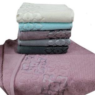 Набор полотенец для ванной 6 шт. Gulcan NILUFER хлопковая махра 70х140