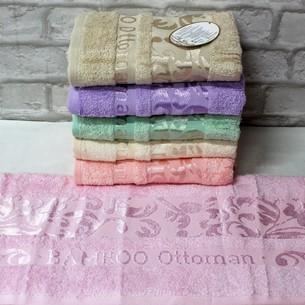 Набор полотенец для ванной 6 шт. Luzz OTTOMAN бамбуковая махра 70х140