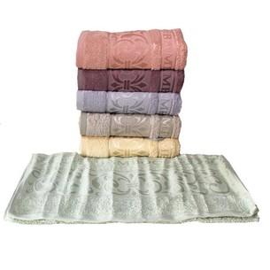 Набор полотенец для ванной 6 шт. Luzz TAC бамбуковая махра 70х140