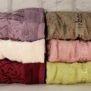 Набор полотенец для ванной 6 шт. Pupilla MIASOFT SILVER 1 бамбуковая махра 50х90