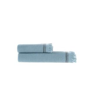 Пештемаль (полотенце, парео) Buldan's PARGA хлопок серый 80х160