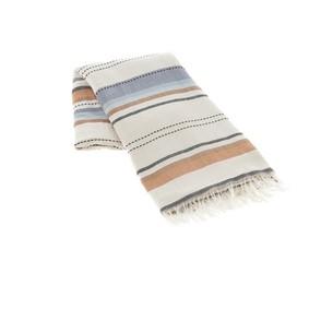 Пештемаль (пляжное полотенце, парео) Buldan's SALINAS хлопок коричневый 90х150
