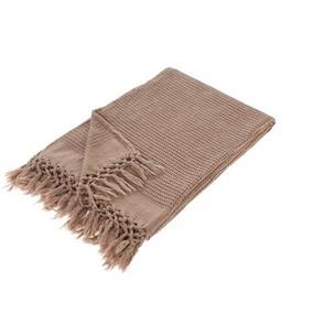 Плед-полотенце Buldan's BOHEM бежевый 130х170