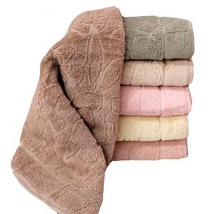 Набор полотенец для ванной 6 шт. Luzz CICEKLI хлопковая махра 70х140