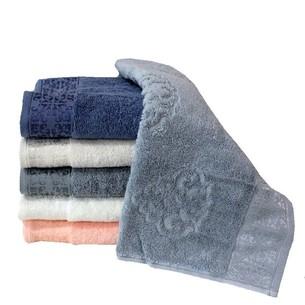 Набор полотенец для ванной 6 шт. Luzz DAMASK хлопковая махра 50х90