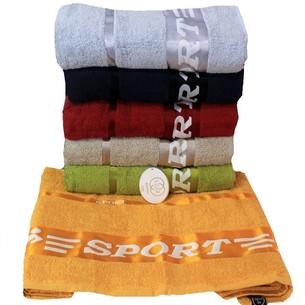 Набор полотенец для ванной 6 шт. Luzz SPORT хлопковая махра 50х90