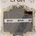 Скатерть прямоугольная Efor KDK жаккард серый 160х300, фото, фотография
