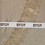 Скатерть прямоугольная Efor KDK жаккард капучино 110х160, фото, фотография