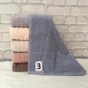 Набор полотенец для ванной 6 шт. Cestepe LUX COTTON GRAND хлопковая махра 50х90