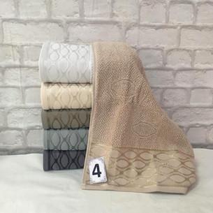 Набор полотенец для ванной 6 шт. Cestepe LUX COTTON OYKU хлопковая махра 50х90
