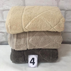 Набор полотенец для ванной 3 шт. Cestepe MICRO COTTON PREMIUM EVA микрокоттон V1 90х150
