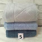 Набор полотенец для ванной 3 шт. Cestepe MICRO COTTON PREMIUM EVA микрокоттон V1 70х140, фото, фотография