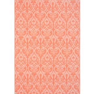 Полотенце пештемаль для пляжа, сауны, бани Begonville BAMBOO LEGACY бамбук/хлопок orange 100х180