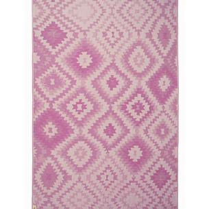 Полотенце пештемаль для пляжа, сауны, бани Begonville BAMBOO VIVE бамбук/хлопок purple 100х180