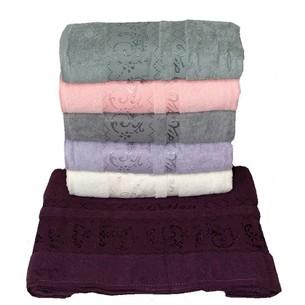 Набор полотенец для ванной 6 шт. Efor AUGUSTA хлопковая махра 70х140