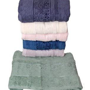 Набор полотенец для ванной 6 шт. Efor CORVETTE хлопковая махра 50х90