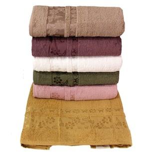 Набор полотенец для ванной 6 шт. Efor ESTELLA хлопковая махра 70х140