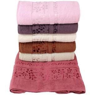 Набор полотенец для ванной 6 шт. Efor EXOTICA хлопковая махра 70х140