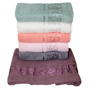 Набор полотенец для ванной 6 шт. Efor LIMBO хлопковая махра 50х90