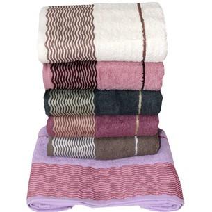 Набор полотенец для ванной 6 шт. Efor MIRACLE хлопковая махра 50х90