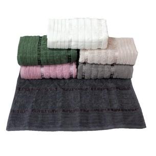 Набор полотенец для ванной 6 шт. Gulcan GEO хлопковая махра 70х140