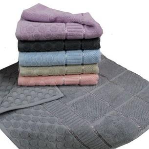 Набор полотенец для ванной 6 шт. Gulcan PUANLI хлопковая махра 50х90