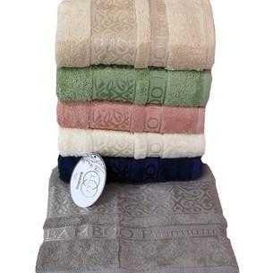 Набор полотенец для ванной 6 шт. Luzz PREMIUM бамбуковая махра 70х140