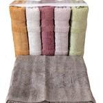 Набор полотенец для ванной 6 шт. Miss Cotton BAHAR хлопковая махра 70х140, фото, фотография