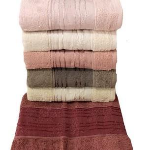 Набор полотенец для ванной 6 шт. Miss Cotton BUKET хлопковая махра 50х90